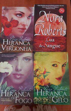 Livros coleção Nora Roberts
