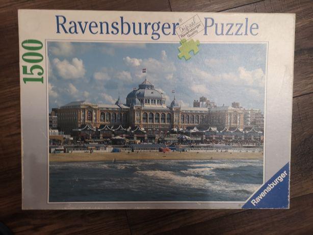 puzzle 1500 Ravensburger stan bardzo dobry