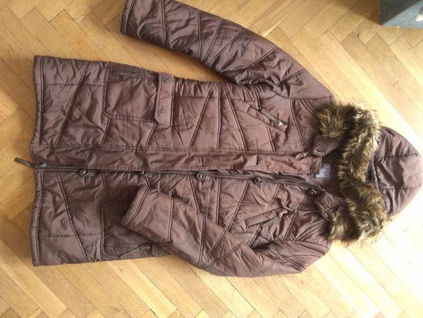 Pikowany płaszczyk kurtka rozmiar L