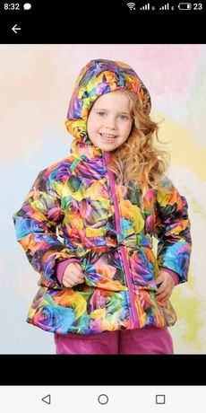 Осенняя демисезонная куртка для девочки