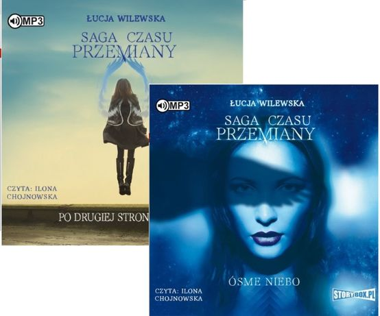 Audiobook CD mp3 Cykl :: saga czasu przemian tom 1+2 / Łukacja Wilewsk