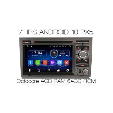 Nawigacja Radio 2din Android 10 Audi A4 B6 B7 Seat Exeo 4/64 GB 6974