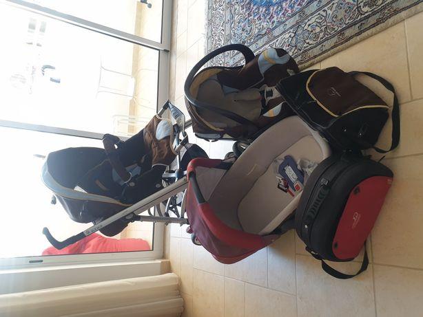 Carrinho de bebé - Trio da bebé confort