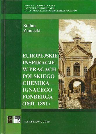 Europejskie inspiracje w pracach polskiego chemika Ignacego Fonberga (