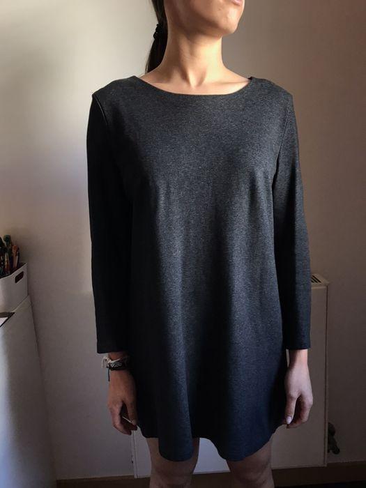 Vestido cinzento escuro tamanho S Custóias, Leça Do Balio E Guifões - imagem 1