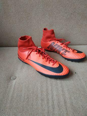"Сороконожки Nike Mercurial Superfly V TF ""Fire Red"""