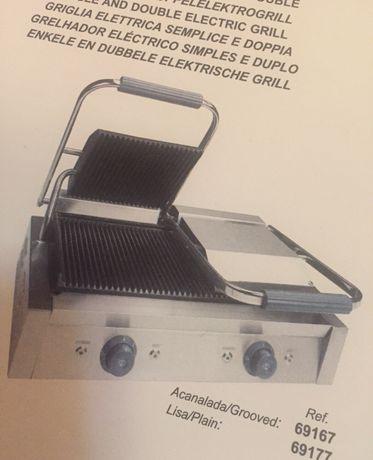 Grelhador eletrico e tostadeira como NOVOS