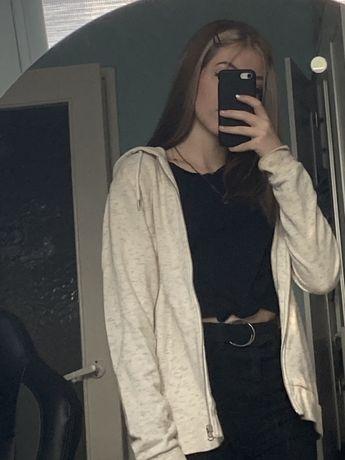 Dluga rozsuwana bluza