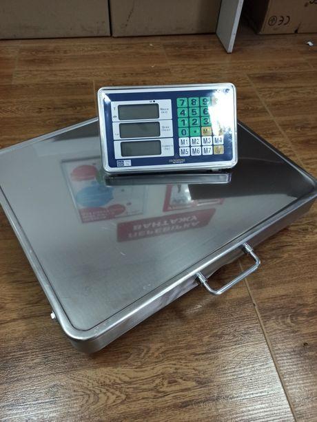 Электронные беспроводные весы 650кг платформа 52*42 см.Ваги
