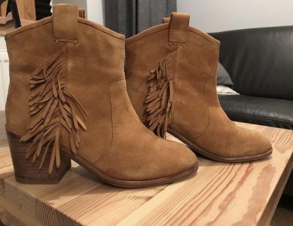 Замшеві черевички, ботинки