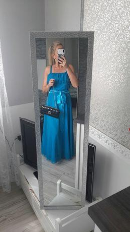 Okazja!!! Sukienka butikowa piękny turkus