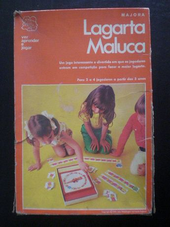 Lagarta maluca - majora ref. 457 + Jogo TopMinos
