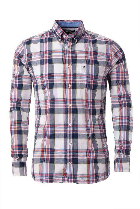 Camisa - Tommy Hilfiger - Abia Check - S Ponta Delgada (São Sebastião) - imagem 1