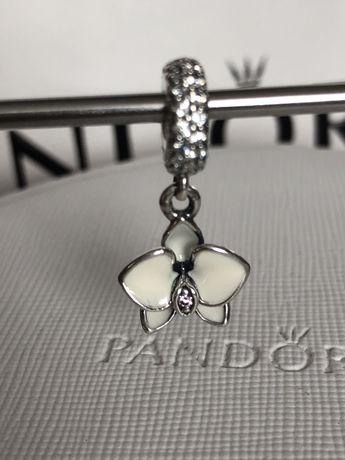 Orchidea Pandora charms zawieszka