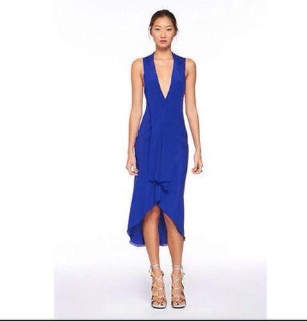 Diane von furstenberg платье шёлк