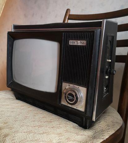 Срочно Маленький телевизор Юнность Р603