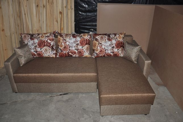Угловой диван Карат для ежедневного сна. Диван двухспальный