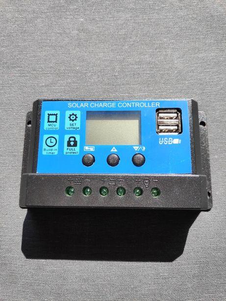 Controlador solar painéis solares 30Ah
