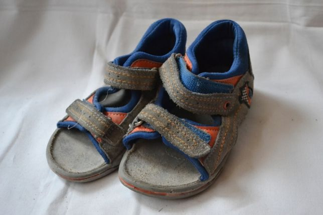 Кожаные сандалии. р. 25