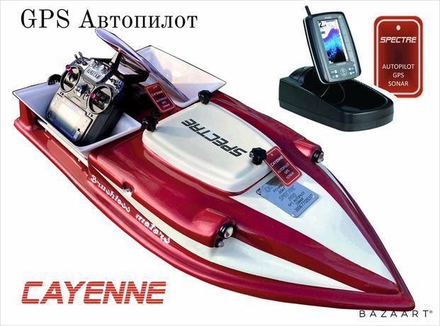 Карповый кораблик для рыбалки эхолот TOSLON TF500 Автопилот GPS