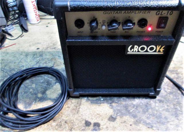 Coluna amplificada p/ guitarra ou microfone