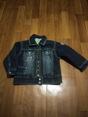 Курточка джинсовая