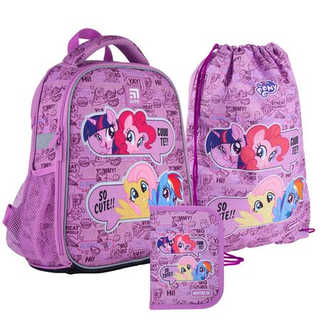 Набір set_lp21-555s рюкзак + пенал + сумка для взуття Kite 555 LP