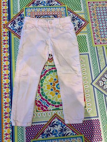 Spodnie jeansowe różowe Zara 104