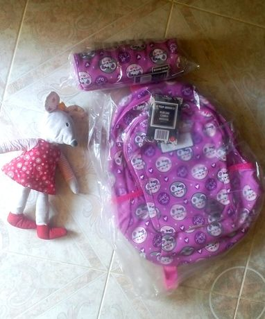 Новый! Рюкзак Мышь(портфель, ранец) + Пенал, ПОЛЬША.