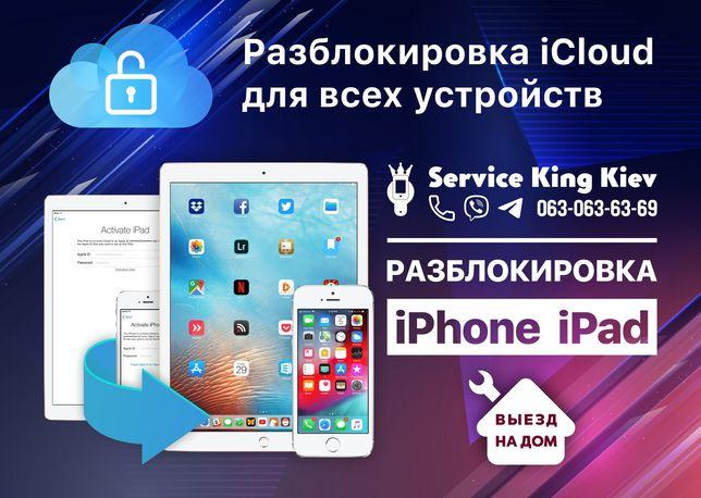 Разблокировка iCloud Apple ID iPhone, iPad, Macbook 8 plus/X/XR/Xs Max