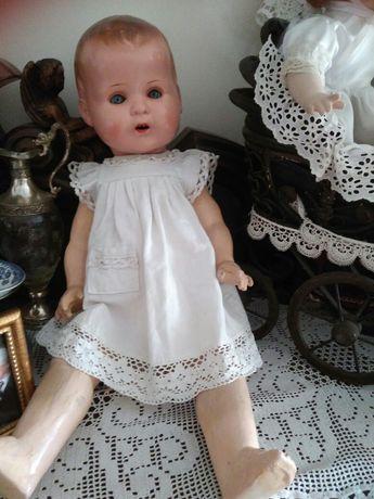 Stara lalka kolekcjonerska 63cm sygnatura