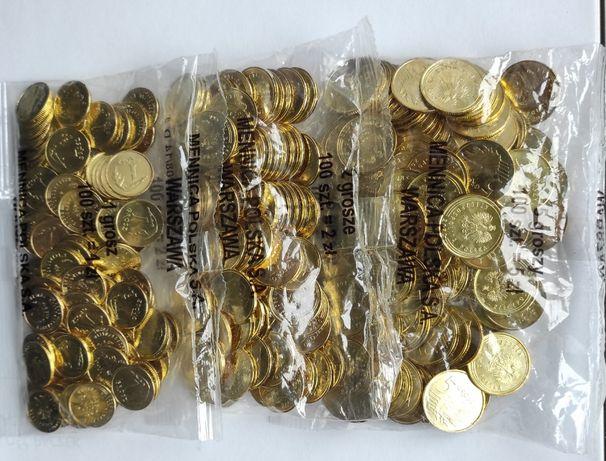 monety-woreczki mennicze 1,2,5 gr 2020r-komplet
