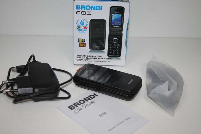 Nowy telefon z klapką Brondi Fox