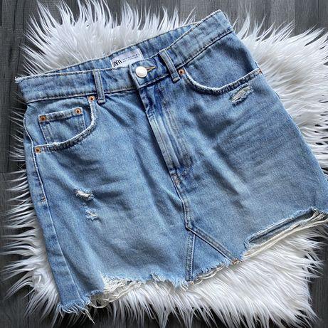 Spódnica jeansowa ZARA r. S