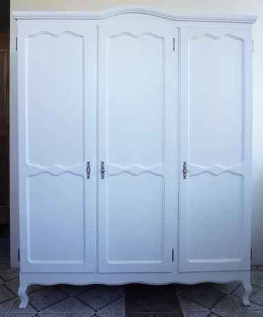 biała szafa ludwikowska ludwik antyki stara shabby drewniana