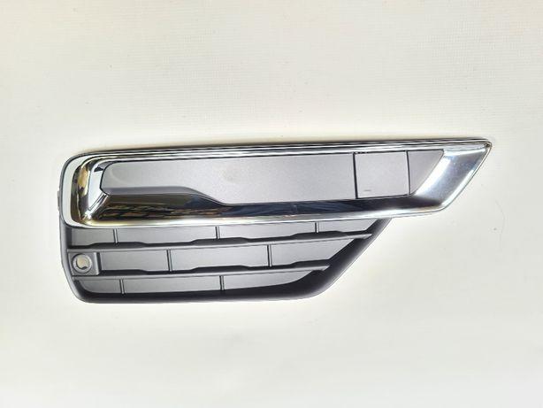 Kratka zderzaka prawa Volvo XC90 II 16-19r oryginał NOWA chrom