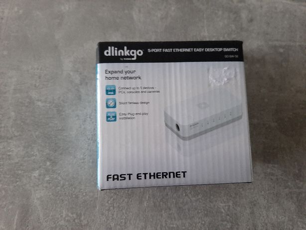 switch D-Link 5-port nowy