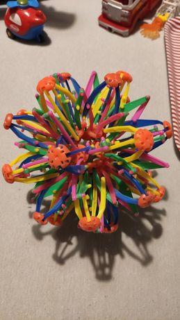 Piłka gwiazda do zabawy rzucanie składa się rozkłada w trakcie zabawy