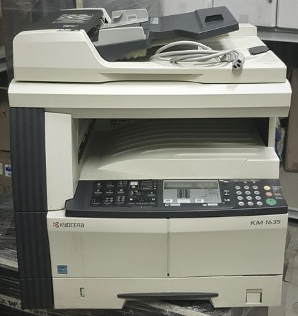 Kyocera KM-1635 копировальный аппарат, б/у