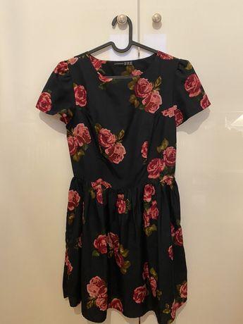 Letnia sukienka w roże