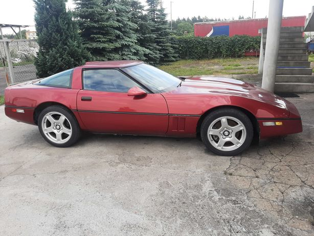 Chevrolet Corvette c4 manual 1990 5,7l TPI