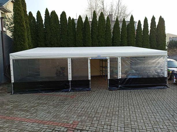 Namiot gastronomiczny, hala przeszklona 48m2