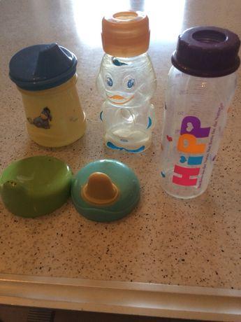 Бутылочки и поилка для кормления младенцев