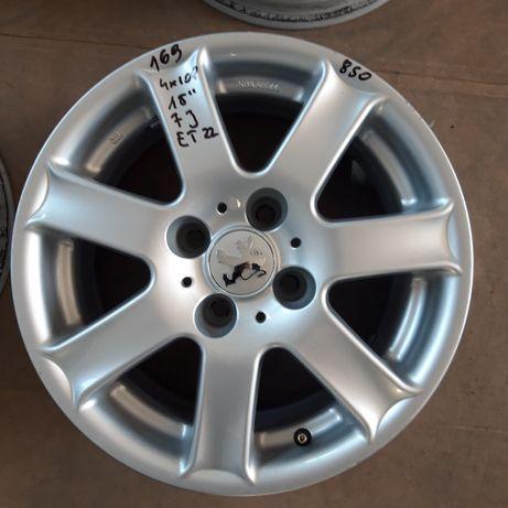 169 Felgi Aluminiowe 4x108 PEUGEOT 4x108 ŁADNE