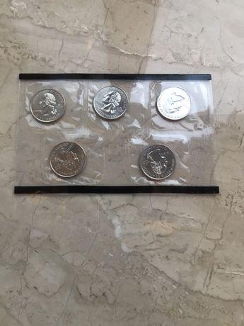 Американские монеты в упоковке