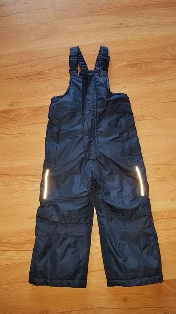 Spodnie na śnieg narciary 86/92 jak nowe