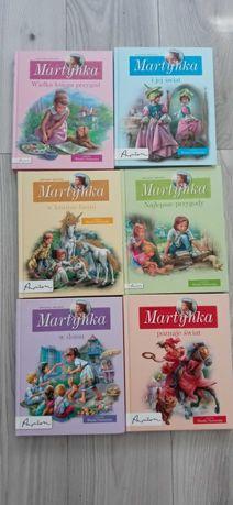 Książki seria o Martynce