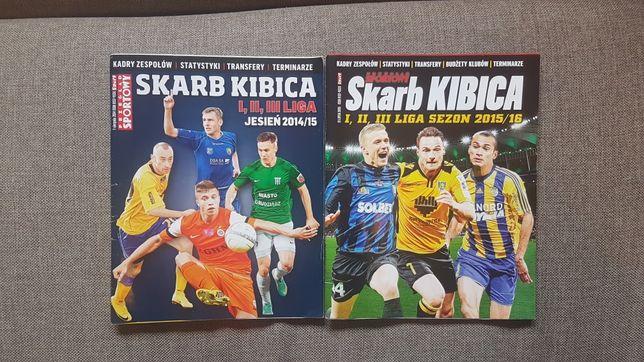 Skarb Kibica 1,2,3 liga jesień 2014/2015 oraz sezon 2015/2016
