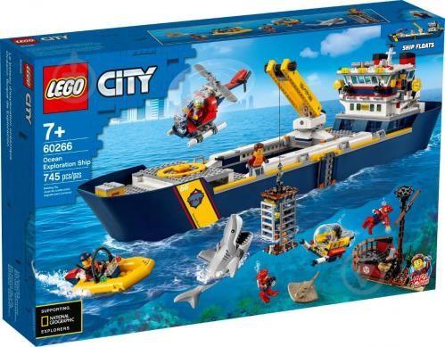 LEGO 60266 City - океан: исследовательское судно