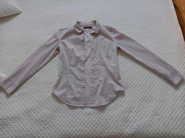 Koszula Reserved z aplikacją mini serduszek